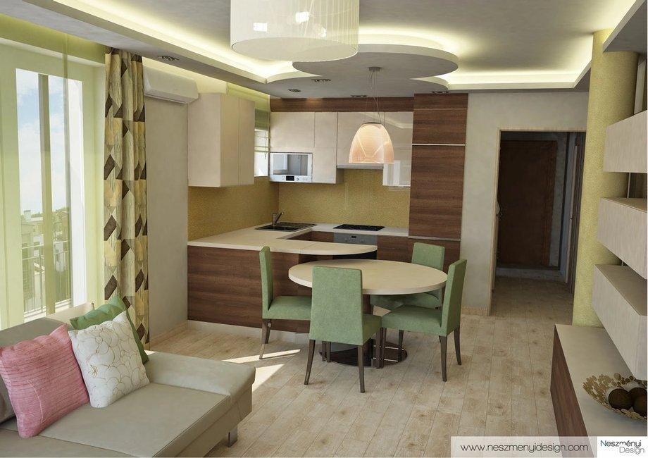 Borítókép Legújabb munkám - modern és otthonos új építésű lakás tervei