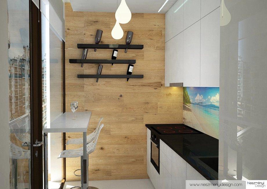 Borítókép Legújabb munkám - Modern lakás a Marina parton