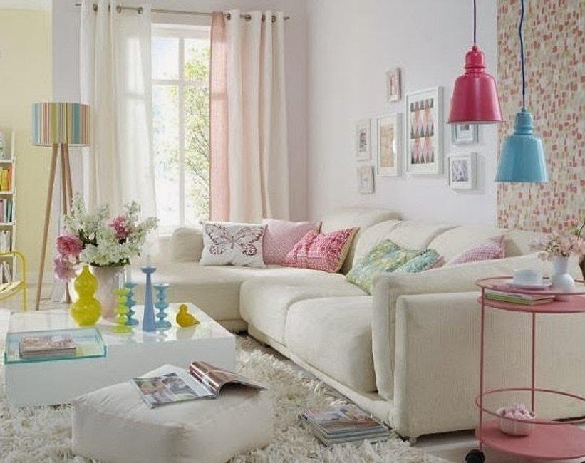 Borítókép Stílus Vadász - Cukorkaszínű nappali