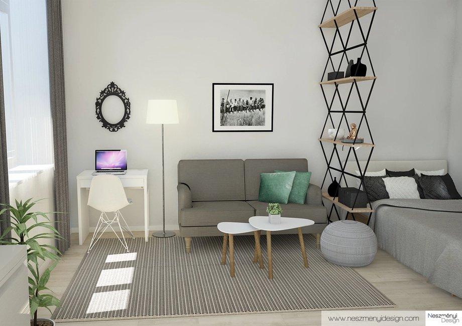 Borítókép Legújabb munkám - 27m2-es lakás Airbnb-re