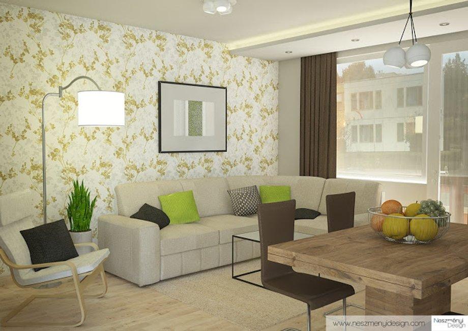 Borítókép Legújabb munkám - bájos modern lakás zölddel
