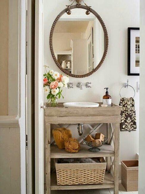 Borítókép Tárolási ötletek kis fürdőszobába