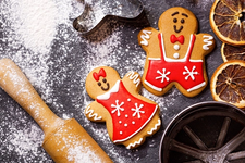 NEW Keto Gingerbread Cookie Man Recipe card image