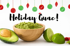 The BEST Holiday Guacamole Recipe card image