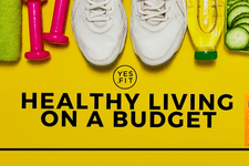Healthy Living on A Budget card image