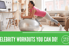 Celebrity workouts card image