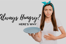 Always Hungry, Here's Why card image