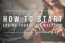 How to Start Loving Yourself and Exercise card image