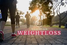 Walking for Weight Loss card image