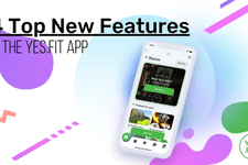 Top 4 New Features on The Yes.Fit App! card image