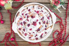 New Vegan Cranberry Eggnog Cinnamon Roll card image
