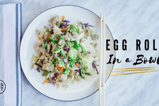 Egg Roll in a Bowl Recipe card image