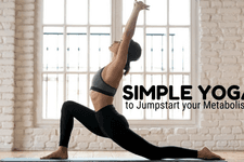 Simple Yoga To Jump Start Your Metabolism card image