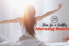 5 Ideas for a Healthy Morning Routine card image