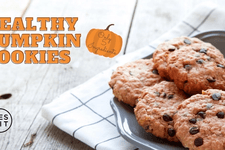 Healthy Pumpkin Cookies card image