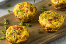 Spinach & Red Pepper Egg Bites Recipe card image