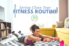 Spring Clean Your Fitness Routine card image
