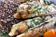 Gluten-Free Chicken Quinoa kale Salad card image