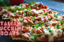 Zucchini Boat Recipe card image