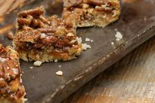 Tasty Vegan Pecan Pie Bars card image