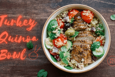 Turkey Quinoa Bowl card image