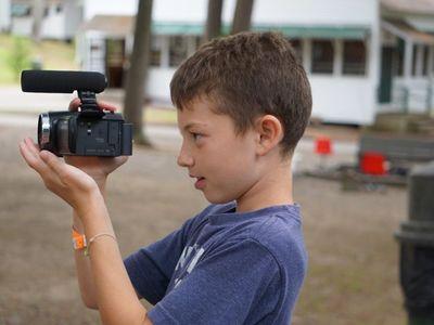 Camper with camera
