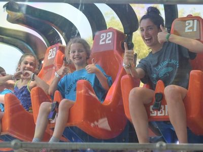 Happy Laurelwood Campers embarked on a rolercoster ride