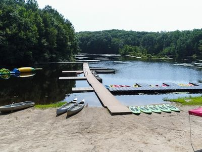 photo of Camp Laurelwood's boating lake