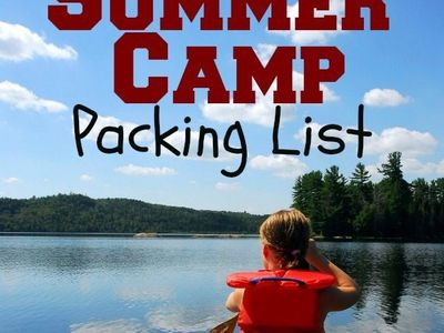 Summer Camp Packing List