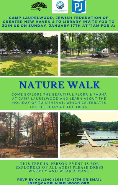 Nature Walk event at Camp Laurelwood