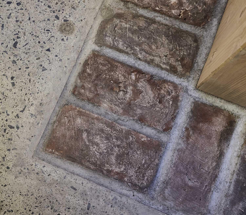 bilde av gjenbrukt murstein