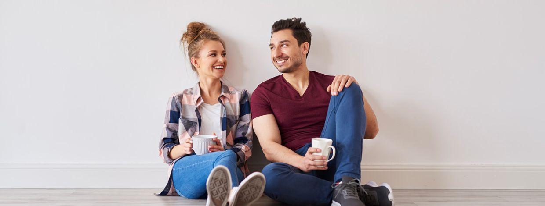 Par tar pause i ny bolig