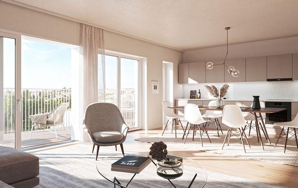 Stue og kjøkken i Møllegård 2