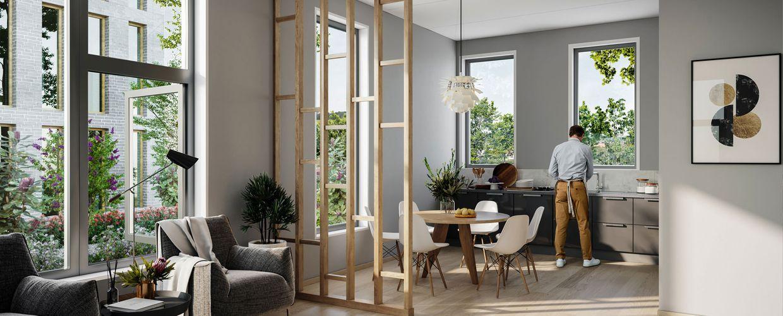 Lyse fine leiligheter på Madla