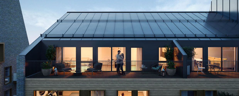 Balkonger i Møllegård 2