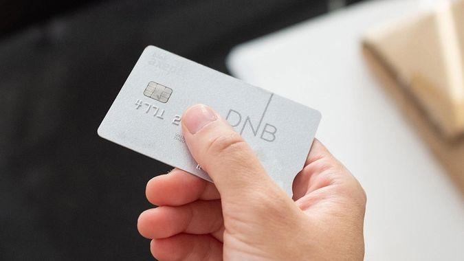 Bilde av kredittkort