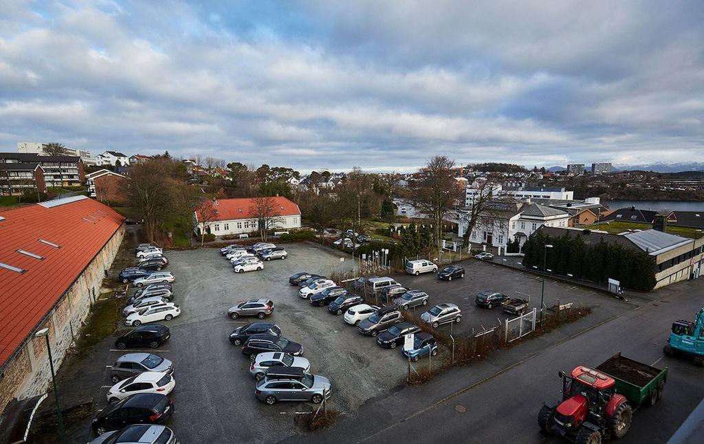 Køhler-kvartalet i Stavanger før Bates byggeprosjekt