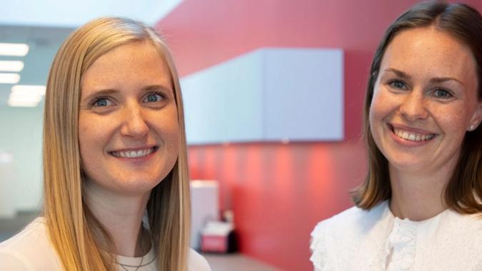Bates advokater Malén Stølen og Anette Gausland