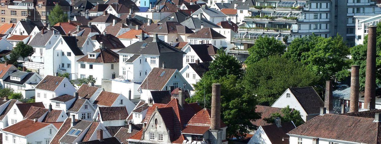 Hus og bygninger i Gamle Stavanger