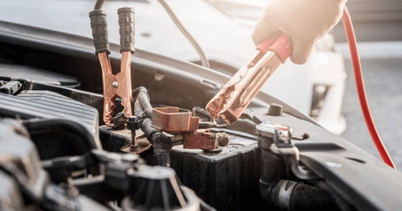 batteri på en bil