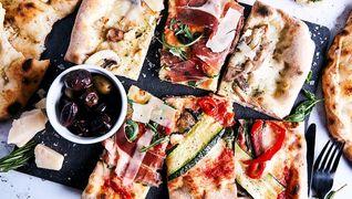 bilde av pizza mano og bate fordel