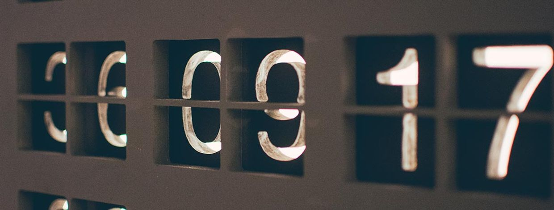 tall for avlesning