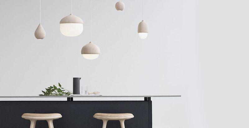 Bilde av kjøkken og lamper fra nettbutikken hviiit