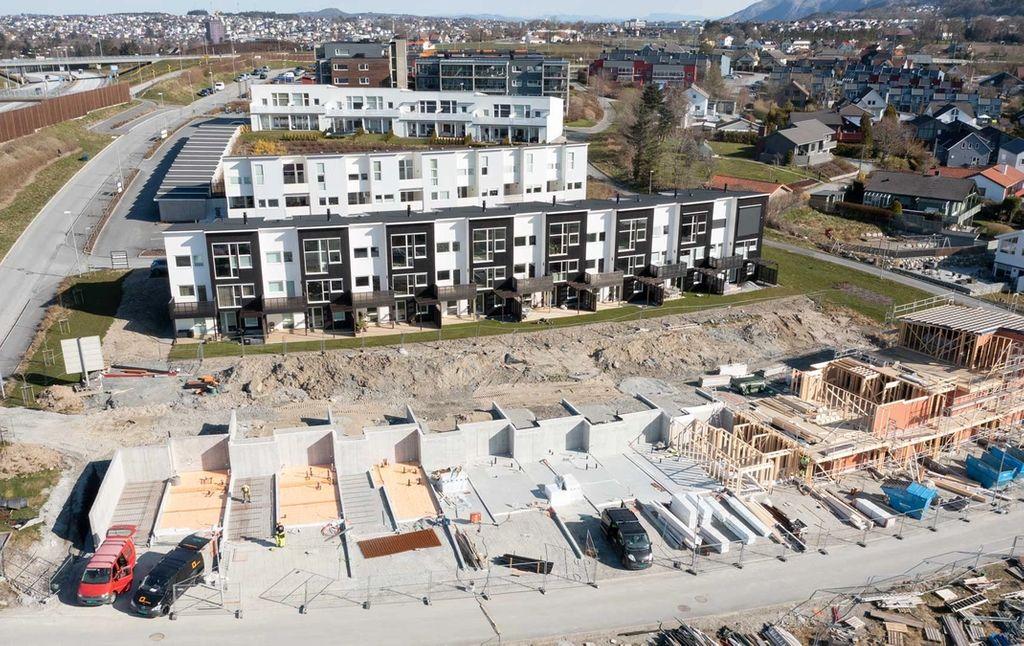 Bates byggefelt på Hovemarka