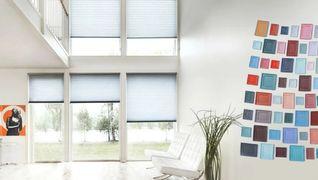 Solskjerming fra interiør service