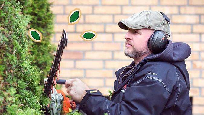 Gartner Dom Hocken fra Bate trimmer tjuahekk