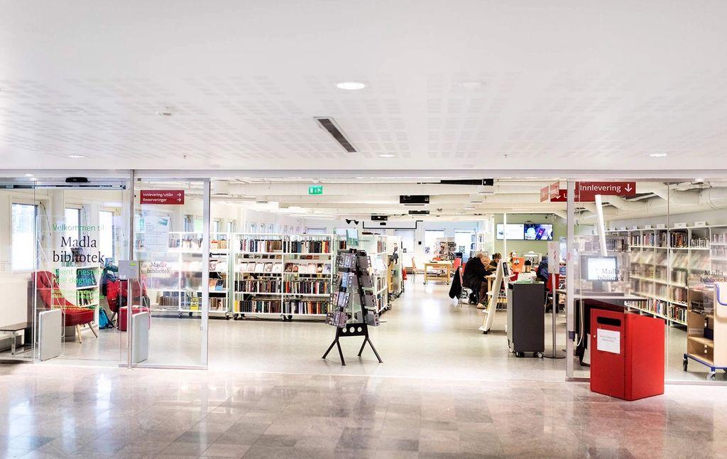 Madla bibliotek