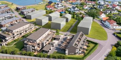 Planlagte boliger på Steinsnes i Horten