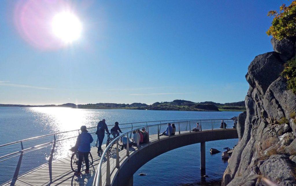 Turstien langs Hafrsfjord