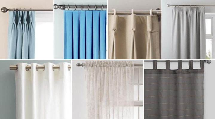 Curtain Style Guide: 7 Types of Curtains For Your Home - Curtains Up Blog |  Kwik-Hang